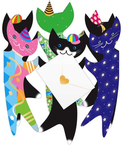 SPECIAL DELIVERY-CARD-PARTY CATS