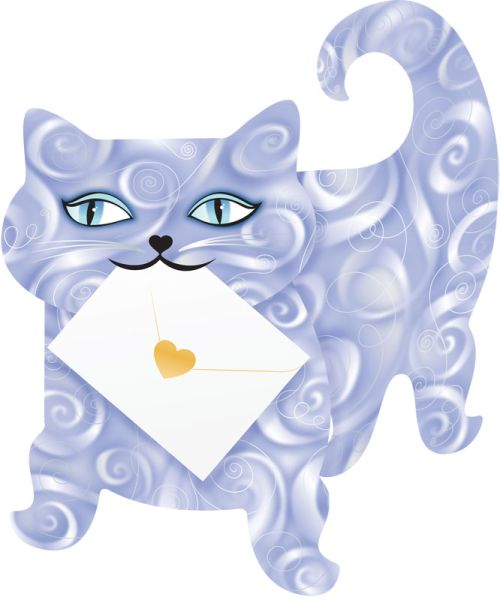 SPECIAL DELIVERY-CARD-CAT-FLUFFY