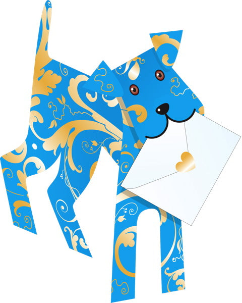SPECIAL DELIVERY-CARD-DOG-BINKY