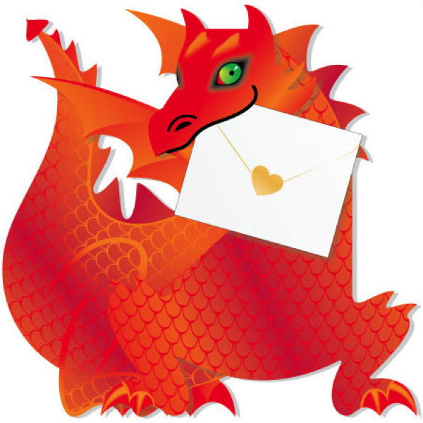 SPECIAL DELIVERY-CARD-DRAGON-FLAME