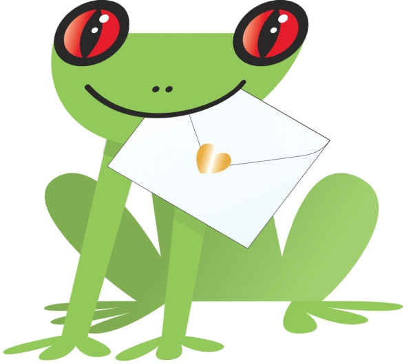 SPECIAL DELIVERY-CARD-FROG-PADDY