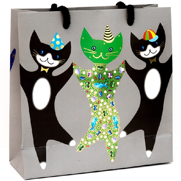 Special Delivery-Gift Bag Large-Party Cats