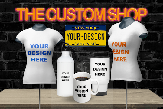 The Custom Shop!