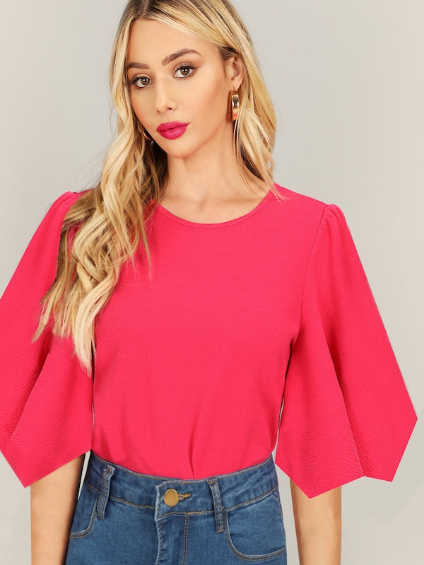Hot Pink Erin Blouse