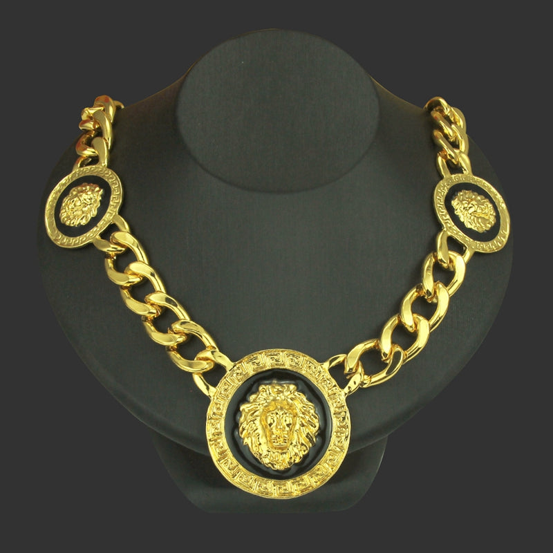 Lion Gold Necklace