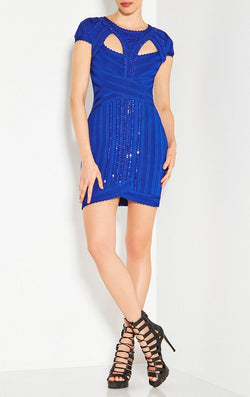 Bandage Royal Beading Dress