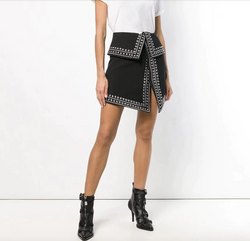 Stud Mini Skirt