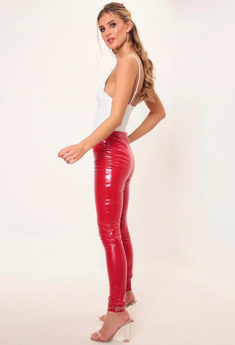 Megan Red Pants