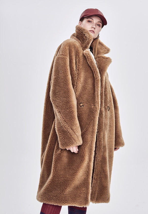 Teddy Camel Coat