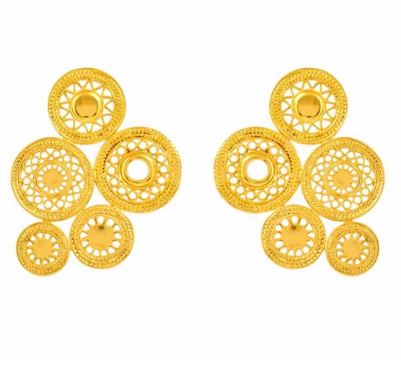 Del Sol Stud Earrings