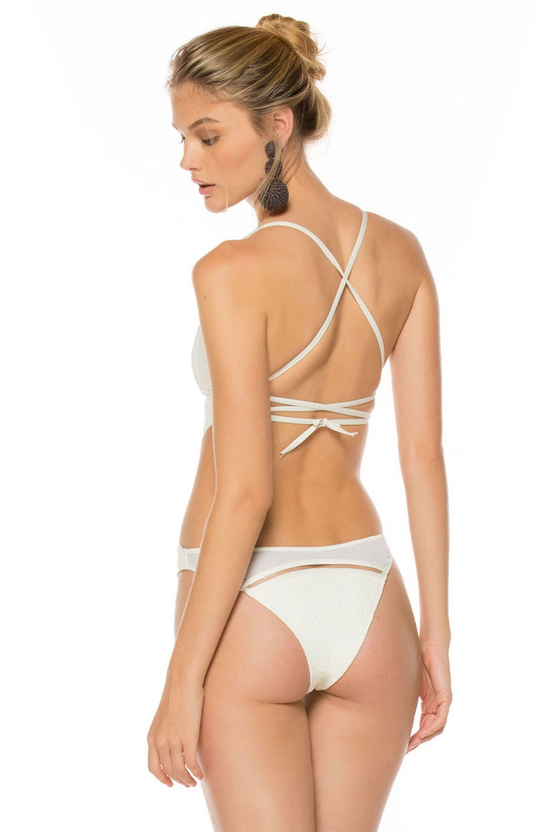Agatha White Moonlight One Piece by Agua Bendita