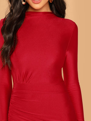 Red Dina Dress