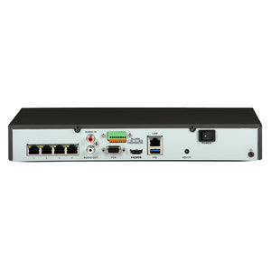 HIKVISON DS-7604NI-K1/4P 4 Channel IP Network Video Recorder