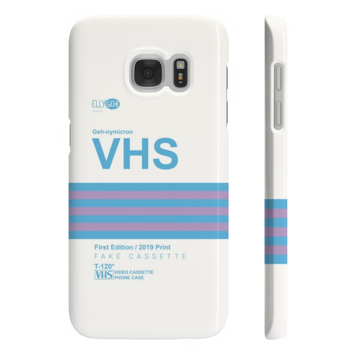 GEH VHS Phone Case First Edition - Available until April 26th