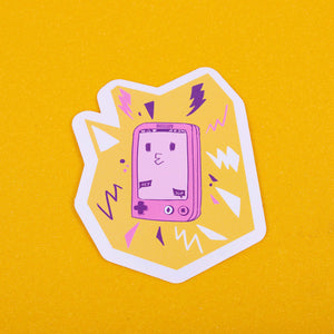 Phone Boy Sticker