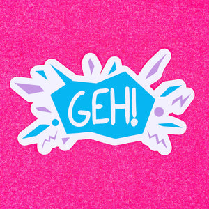 First Edition GEH logo sticker