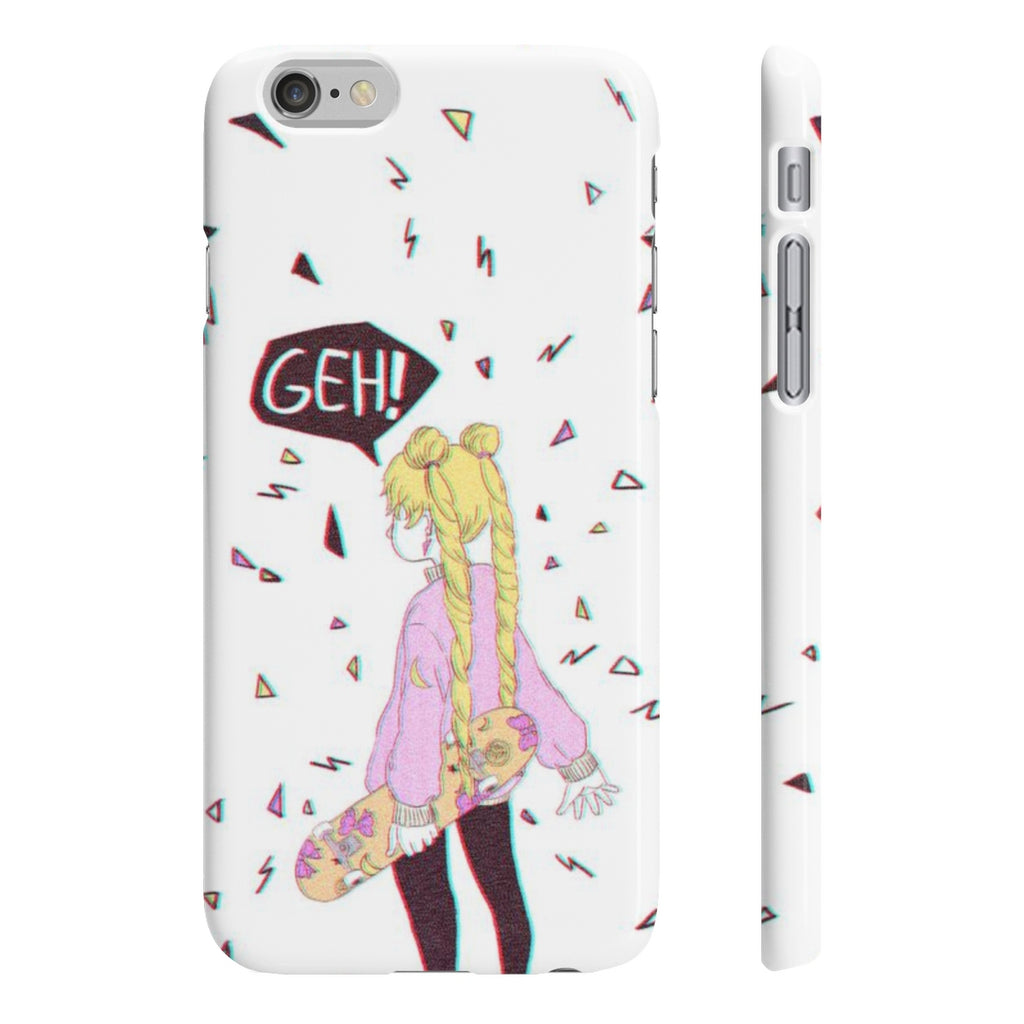 Skater Moon Phone Case - Available till Feb 15th