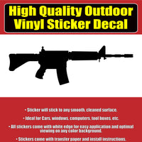 AR 15 Colorado, USA flag and Solid colors Vinyl Car Window Laptop Bumper Sticker Decal