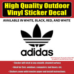 Adidas Vinyl Car Window Laptop Bumper Sticker Decal - Colorado Sticker