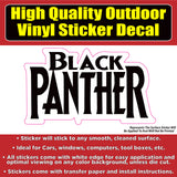 Black Panther Movie Vinyl Car Vehicle Window Decal Sticker
