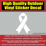 Breast Cancer Awareness Support Vinyl Car Window Bumper Sticker Decal