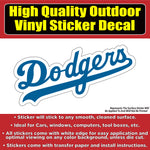 Los Angeles Dodgers Vinyl Car Window Laptop Bumper Sticker Decal