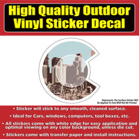 City of Denver Colorado Vinyl Car Window Laptop Bumper Sticker Decal