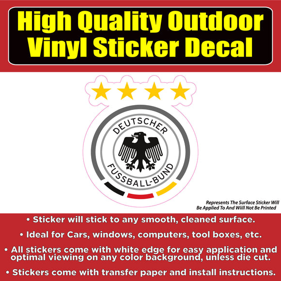 Germany Soccer Football Club Vinyl Car Window Laptop Bumper Sticker Decal - Colorado Sticker