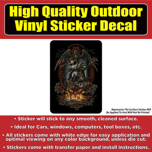 Nightmare Before Christmas Jack Skellington Vinyl Car Window Laptop Bumper  Sticker Decal