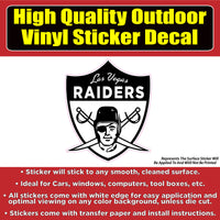 Oakland Las Vegas Raiders Football Vinyl Car Window Laptop Bumper Sticker Decal