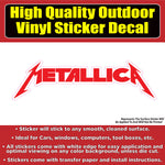Metallica Rock Band Group Car Truck Vinyl Bumper Sticker Decal