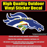 Denver Broncos Many Designs & Sizes Car Window Vinyl Decal Sticker - Colorado Sticker