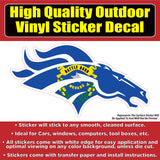 Denver Broncos Many Designs & Sizes Car Window Vinyl Decal Sticker