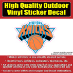 New York Knicks Basketball Vinyl Car Window Laptop Bumper Sticker Decal