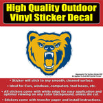 Northern Colorado Bears UNC Vinyl Car Window Laptop Bumper Sticker Decal