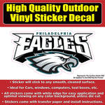 Philadelphia Eagles 2 styles football Vinyl sticker decal bumper sticker