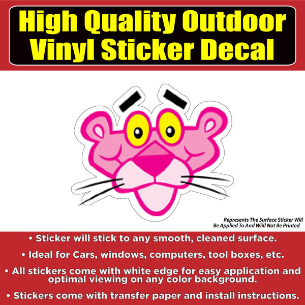 Pink Panther Business Sign Banner Vinyl Business Sticker Decal
