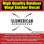 Slumerican Yelawolf Music Die-cut Many Colors Vinyl Car Window Laptop Bumper Sticker Decal