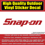 Snap-on Tools, Many Colors Vinyl Car Window Laptop Bumper Sticker Decal
