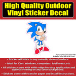 Sonic the Hedgehog Car Window Bumper Sticker Decal