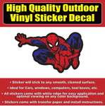 Spiderman Car Window Bumper Sticker Decal