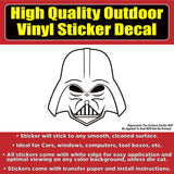 Star Wars Darth Vader Vinyl Bumper Window Decal Sticker In Several Colors