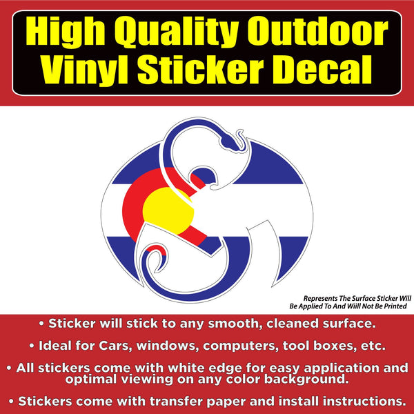 Strange Music Records Tech Nine State Flag Design Vinyl Car Vehicle Sticker Decal