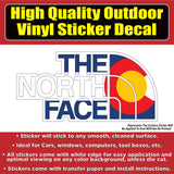 The North Face Vinyl Window Car Sticker Decal