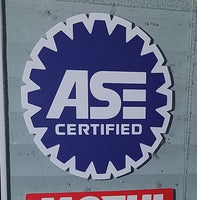 ASE Certified Business Sign Banner Vinyl Business Sticker Decal - Colorado Sticker
