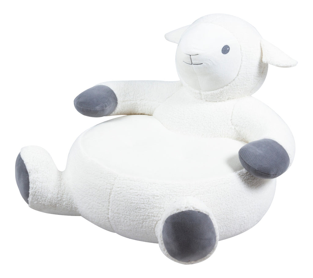 Animal Plush Chair - Lamb - Kids Ride On Cars