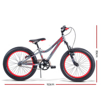 Huffy 20 Inch Kids Bike - Red and Black - Kids Ride On Cars
