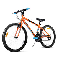 Huffy 24inch Granite Mountain Bike Unisex Mens Womens City Bicycle 15-Speed Orange - Kids Ride On Cars