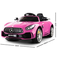Mercedes Benz AMG GT R – Pink - Kids Ride On Cars