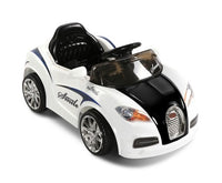 Bugatti - Black & White - Kids Ride On Cars